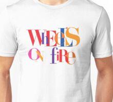 Absolutely Fabulous - Wheel's On Fire  Unisex T-Shirt