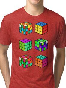 Rubik's Cubes Tri-blend T-Shirt