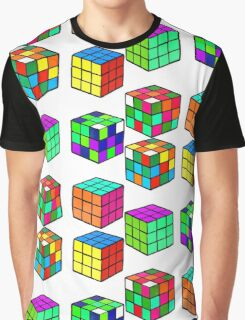 Rubik's Cubes Graphic T-Shirt
