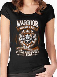 Warrior The Legend Of War - Wow Women's Fitted Scoop T-Shirt