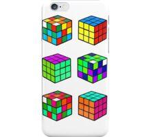 Rubik's Cubes iPhone Case/Skin