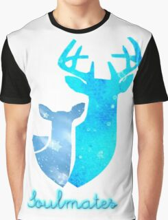 Doe and Stag soulmates Graphic T-Shirt