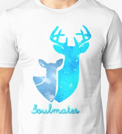 Doe and Stag soulmates Unisex T-Shirt