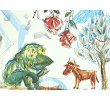 Shepherd-Frog Photographic Print