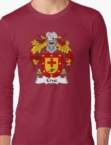 Cruz Coat of Arms/Family Crest Long Sleeve T-Shirt