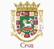 Cruz Shield of Puerto Rico Kids Tee