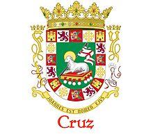 Cruz Shield of Puerto Rico Photographic Print