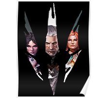 Witcher Characters Poster