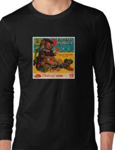 Vinyl Record Cover Captain Snorter Long Sleeve T-Shirt