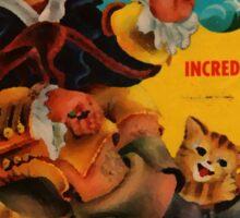 Vinyl Record Cover Captain Snorter Sticker