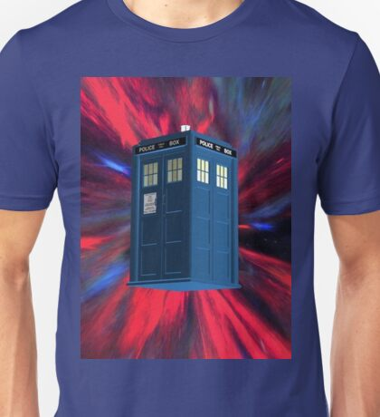 Doctor Blue Box Unisex T-Shirt