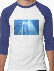 Drowned World Men's Baseball ¾ T-Shirt
