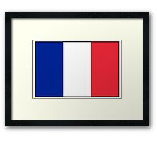 FRANCE, FRENCH, French Flag, Flag of France, Tricolour, Storming of the Bastille, Liberté, Égalité, Fraternité, Pure & simple Framed Print
