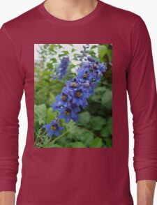 Nature, USA, Alaska, Flower, blue Long Sleeve T-Shirt