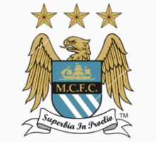 Manchester City F.C Logo Crest by CuteBanana