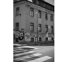 Ljubljana Street Photographic Print