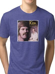 Vinyl Record Cover - Ken Tri-blend T-Shirt