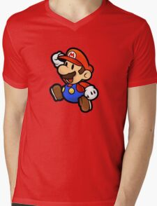 Little hero Mens V-Neck T-Shirt