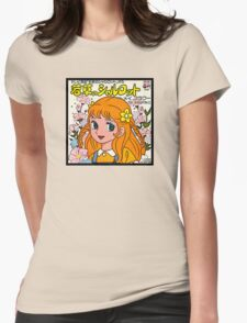 Vinyl Record Cover - Manga  Womens Fitted T-Shirt