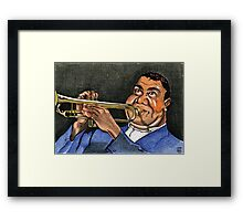 LOUIS WHO? Framed Print