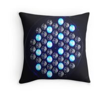 Stage Lighting Throw Pillow