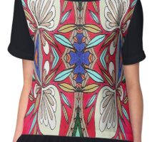 3 is a Magic Number Chiffon Top