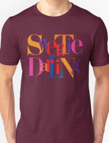 Absolutely Fabulous - Sweetie, Darling Unisex T-Shirt