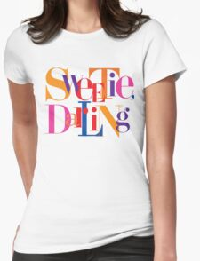 Absolutely Fabulous - Sweetie, Darling Womens Fitted T-Shirt