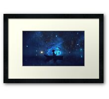 Fisher of Dreams Framed Print