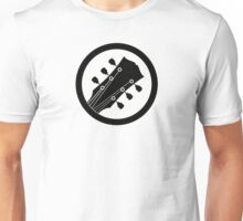 Electric guitar (black) Unisex T-Shirt