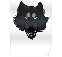Werewolf Head Poster