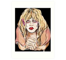 Courtney  Art Print