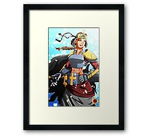 Sword Maiden Framed Print