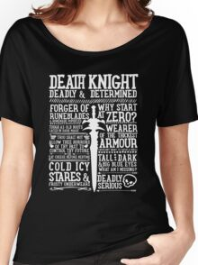 Warcraft - Death Knight Wow Women's Relaxed Fit T-Shirt
