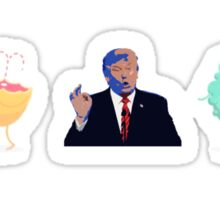 Trump WAYS TO DIE Sticker