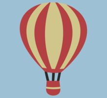Classic Red and Yellow Hot air Balloon Kids Tee