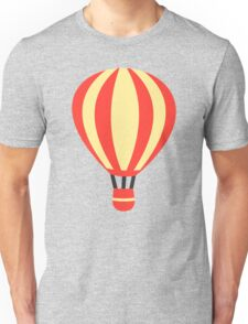 Classic Red and Yellow Hot air Balloon Unisex T-Shirt
