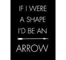 Person of interest Root Shaw Arrow Photographic Print