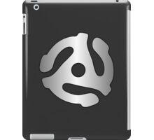 vinyl record silver adapter iPad Case/Skin