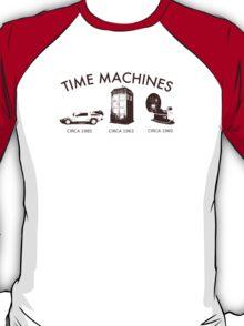 Time Machine Through Time T-Shirt