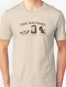 Time Machine Through Time Unisex T-Shirt