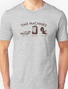 Time Machine Through Time Unisex T-Shirt
