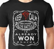 Warcraft - Keep Calm Horde Unisex T-Shirt