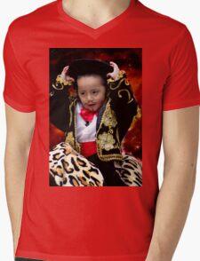 Cuenca Kids 782 Mens V-Neck T-Shirt