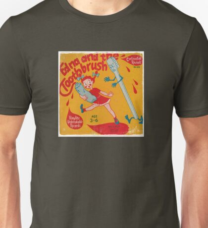 Vinyl Record Cover - Toothbrush  Unisex T-Shirt