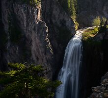 Clear Creek Falls - Gifford Pinchot N.F. by Mark Heller