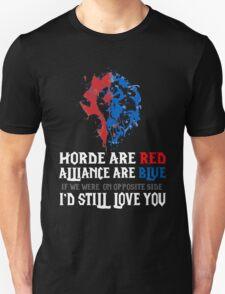 Warcraft - World Of Warcraft Wow Love Poem Card Geeky Unisex T-Shirt