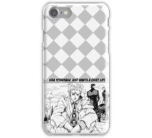 Kira Yoshikage Phone case  iPhone Case/Skin
