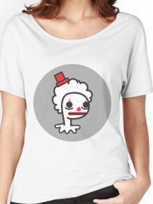 sad clown Women's Relaxed Fit T-Shirt