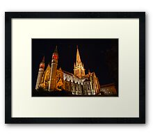 HDR- Old CHURCH Framed Print